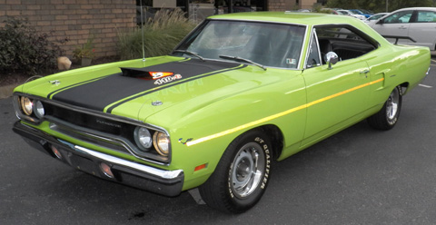 1970 Plymouth Roadrunner By Chuck Lazar image 1.