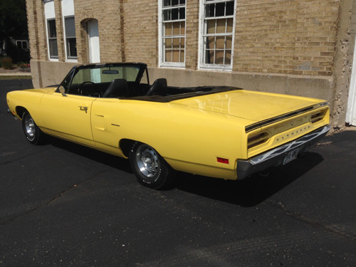 1970 Plymouth Roadrunner Convertible By Paul image 1.