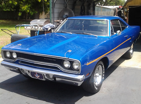 1970 Plymouth Roadrunner By Billy Marshall image 1.