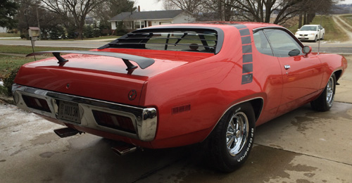 1971 Plymouth Roadrunner By Larry Boggs image 2.