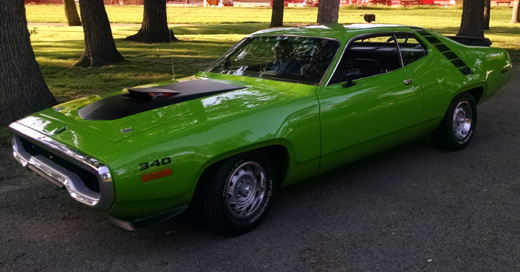 1971 Plymouth Road Runner By Charlie H. image 1.