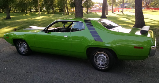 1971 Plymouth Road Runner By Charlie H. image 2.