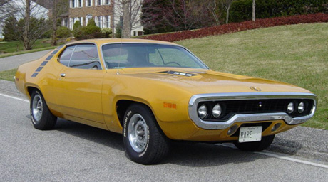 1971 Plymouth Roadrunner By Paul Bicknell image 1.