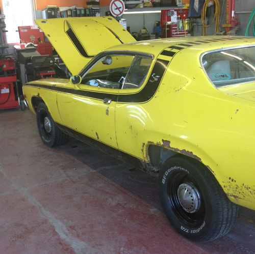 1974 Plymouth Roadrunner By Curtis Whitehawk image 1.