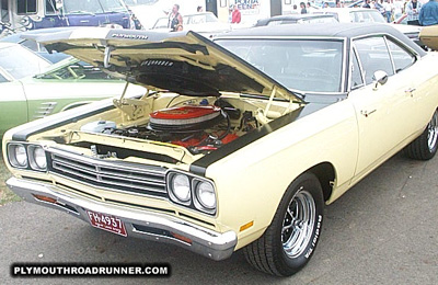 1969 Plymouth Road Runner. Photo from 1999 Mopar Nationals – Columbus, Ohio.