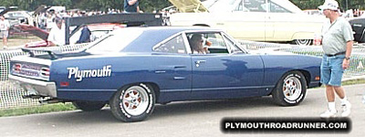 1970 Plymouth Road Runner. Photo from 1999 Mopar Nationals – Columbus, Ohio.