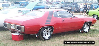 Plymouth Road Runner. Photo from 1999 Mopar Nationals – Columbus, Ohio.