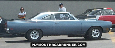 1969 Plymouth Road Runner. Photo from 2000 Chrysler Classic – Columbus, Ohio.