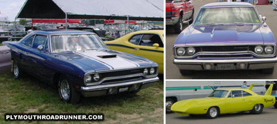 Plymouth Road Runner. Photo from 2000 Mopar Nationals – Columbus, Ohio.