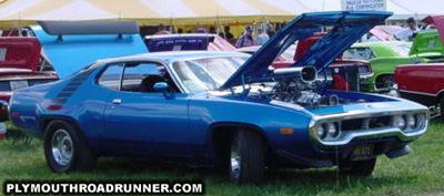1972 Plymouth Road Runner. Photo from 2000 Mopar Nationals – Columbus, Ohio.