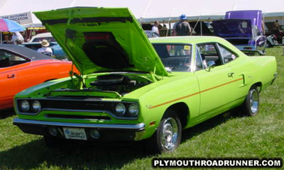 1970 Plymouth Road Runner. Photo from 2000 Mopar Nationals – Columbus, Ohio.