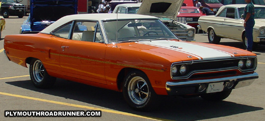 1970 Plymouth Road Runner. Photo from 2001 Chrysler Classic – Columbus, Ohio.