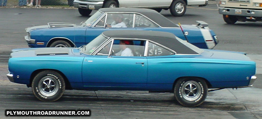 1968 Plymouth Road Runner. Photo from 2001 Chrysler Classic – Columbus, Ohio.