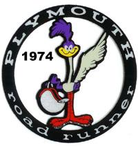 1974 Plymouth Road Runner Logo