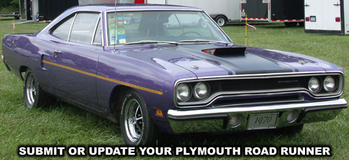 1970 Plymouth Roadrunner. Photo from the 2012 Mopar Nationals Event.
