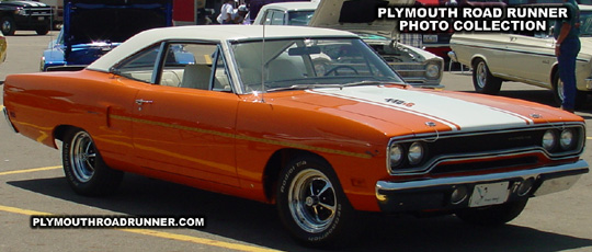 Plymouth Road Runner. Photo from 2001 Chrysler Classic – Columbus, Ohio.