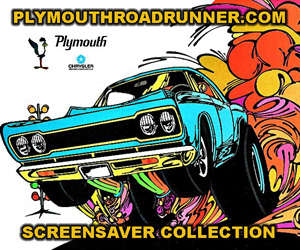 Plymouth Road Runner Screensaver Collection